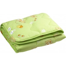 Одеяло Руно шерсть детское 105х140 см (320.02ШУ_салатовий)
