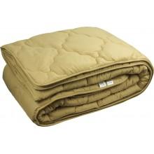 Одеяло Руно овечья шерсть бежевое 140х205 см (321.52ШУ_Бежевий)