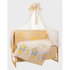 Комплект детского постельного белья Bepino Би хэппи 95х145 (02-БХ-Б-590-Т бежевый)