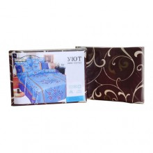 Комплект постельного белья Уют полиэстер евро 210х220 (210855-1)