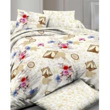 Комплект постельного белья РУНО сатин двуспальный 175х215 (655.137К_Paris)
