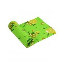 Вафельное полотенце кухонное РУНО 45х80 (202.15_Салатовий лимон)