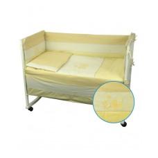 Защитные бортики в кроватку Руно 39х360 (922Кошенята_Жовтий)