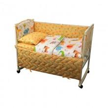Набор в детскую кроватку РУНО 60х120 (977.137Jungle)