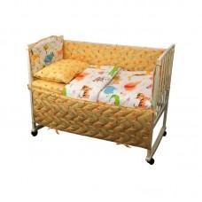 Ограждение защитное в детскую кроватку РУНО 360х39 (926.137Jungle)