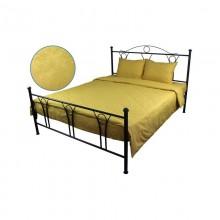 Комплект постельного белья РУНО сатин жаккард 205х225 (845.137ЖК_Золото)