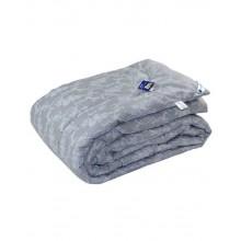 Одеяло РУНО 200х220 шерстяное дизайн (322.02ШУ_Сірий вензель)