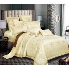 Комплект постельного белья РУНО сатин жаккард 205х225 (845.137АЖ_SJ-018(А+В))