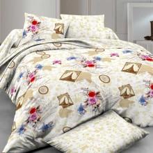 Комплект постельного белья РУНО сатин полуторный 143х215 (1.137К_Paris)