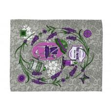 Вафельное полотенце кухонное РУНО 45х60 (205.15_Лаванда provence)