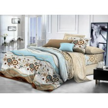 Комплект постельного белья РУНО бязь евро 205х225 (845.116_Марта)