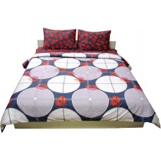 Комплект постельного белья РУНО сатин семейный 143х215 (6.137К_40-0684+40-0685)