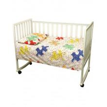 Комплект детского постельного белья РУНО 60х120 (932.116_Пазли02)