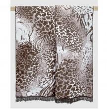Плед Arya Leo хлопок 150х200 см коричневый (TR1005031)