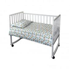 Комплект постельного белья в детскую кроватку РУНО бязь 60х120 (932.02_Єдиноріг)