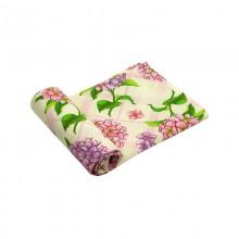 Вафельное полотенце кухонное РУНО 45х80 (202.15_Гортензія)