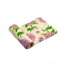 Вафельное полотенце кухонное РУНО 35х70 (217.15_Гортензія)