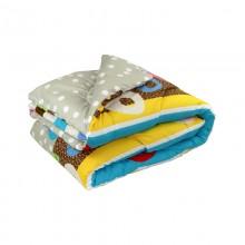 Одеяло РУНО силиконовое дизайн 172х205 (316.52Барви Остра)