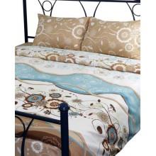 Комплект постельного белья РУНО бязь двуспальный 200х220 (655.116_Марта)
