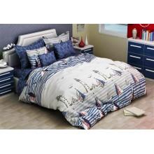 Комплект постельного белья РУНО бязь евро 205х225 (845.114Г_3026(А+В))