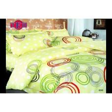 Комплект постельного белья ТЕП бязь евро 200х215 (606 Круги разноцветные)
