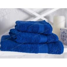 Полотенце махровое Ecotton гладкокрашеное 70х140 (blue)