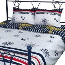 Комплект постельного белья РУНО бязь евро 205х225 (845.114Г_2096)